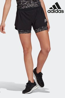 adidas Fast Two-In-One Primeblue Graphic Shorts