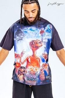 Hype. x E.T Oversized Graphic T-Shirt