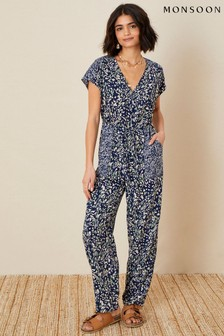 Monsoon Printed Jumpsuit in LENZING™ ECOVERO™