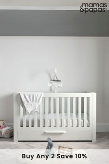 White Mamas & Papas Franklin Cot Bed