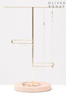 Oliver Bonas Loop Marble Jewellery Stand