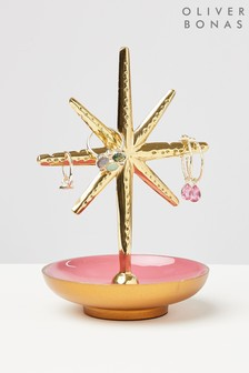 Oliver Bonas Star Ring And Earrings Stand
