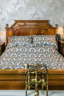 The Chateau by Angel Strawbridge Nouveau Heron Duvet Cover and Pillowcase Set