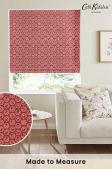 Cath Kidston Red Freston Rose Made To Measure Roman Blind