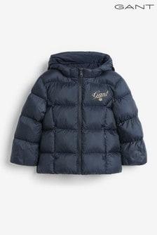 GANT Girls Script Shield Puffer Jacket
