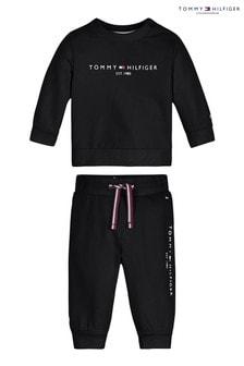 Tommy Hilfiger Black Baby Essential Set