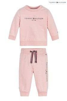 Tommy Hilfiger Pink Baby Essential Set