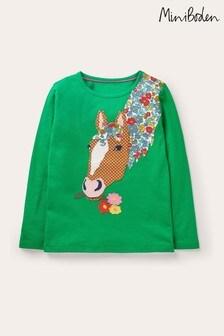 Boden Green Front & Back T-Shirt