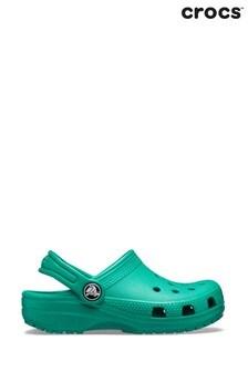 Crocs Green Kids Classic Slip-On Clogs