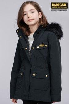 Barbour® International Girls Wanneroo Waterproof Jacket