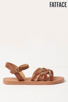 FatFace Tan Molly Strap Sandals