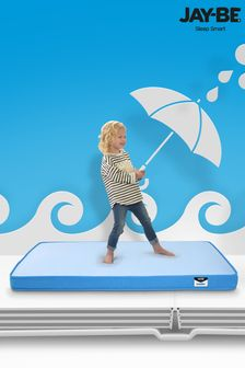 Toddler Waterproof Anti Microbial Foam Free Sprung Mattress By Jay Be