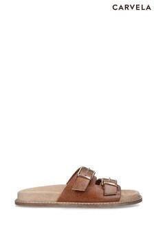 Carvela Comfort Natural Shadow Sandals