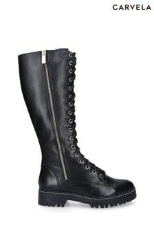 Carvela Black Sip Boots