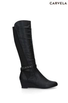 Carvela Comfort Black Timothy Boots