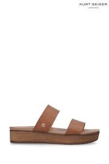 Kurt Geiger Natural Robby Sandals