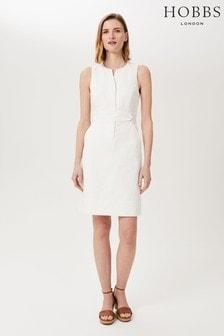 Hobbs White Lucie Dress