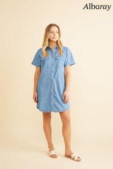 Albaray Short Denim Dress