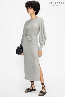 Ted Baker Blubela Structured Sleeve Midi Dress