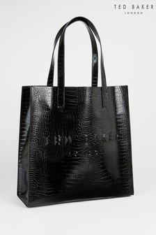 Ted Baker Croccon Croc Detail Large Icon Bag