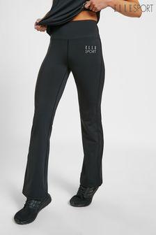 ELLE Sport High Wait Bootcut Yoga Pant Joggers