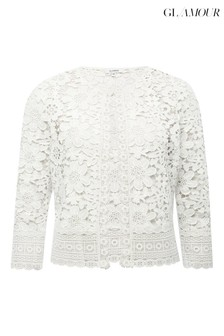 Glamour Crochet Lace Jacket