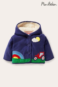 Boden Blue Cord Jacket