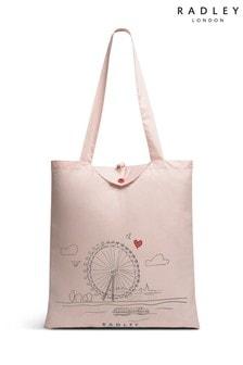 Radley London London Skyline Foldaway Tote Bag