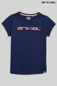 Animal Girls Sienna Organic Logo T-Shirt