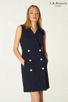 L.K.Bennett Hillier Cotton Blazer Dress