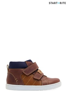 Start-Rite Discover Brown Leather Boots