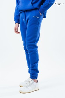Hype. Blue Mens Baggy Fit Joggers