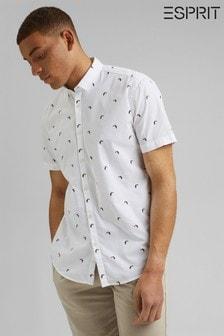 Esprit Printed Short Sleeve Shirt