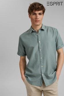 Esprit Organic Cotton Short Sleeve Shirt