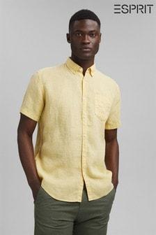 Esprit Short Sleeve Linen Shirt