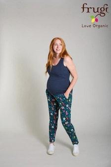 Frugi Green Organic Over Bump Maternity Trousers