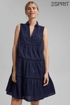 Esprit Blue Organic Cotton Dress