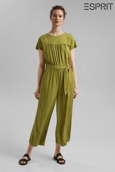 Esprit Green Jumpsuit