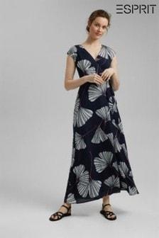 Esprit Blue Maxi Dress