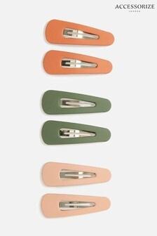 Accessorize Multi Small Matte Hair Clip Multipack