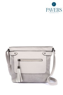 Pavers Grey Ladies Handbag