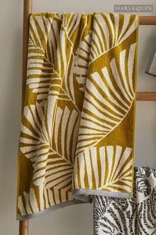 Harlequin Yellow Mala Towel