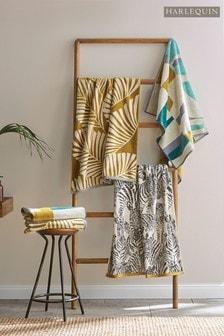 Harlequin Teal Bodega Towel
