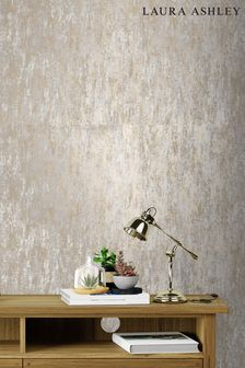 Laura Ashley Gold Whinfell Wallpaper