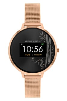 Amelia Austin Series 3 Camelia Rose Gold Smart Watch