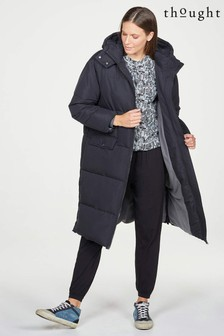 Thought Black Elisha Puffer Coat