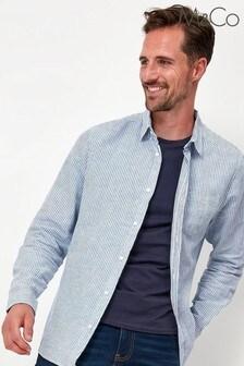 M&Co Blue Stripe Shirt