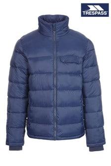 Trespass Mens Blue Zaylar Casual Jacket
