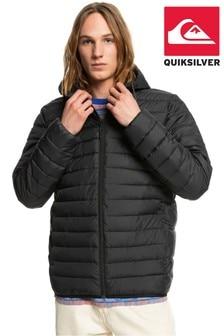 Quiksilver Men Black Scaly Puffer Jacket
