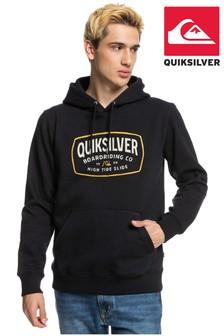 Quiksilver Men Black High Cloud Fleece